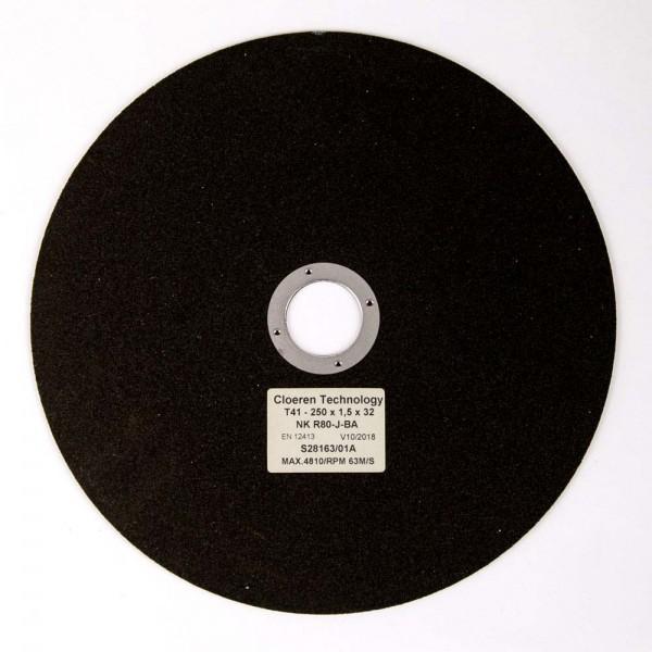 High Quality Korund Trennscheibe, unverstärkt, Eisenwerkst. 150-700 HV