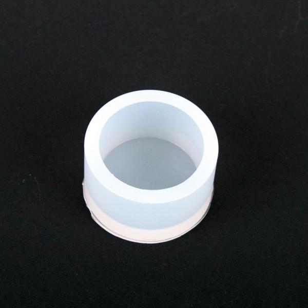 Silikonkautschuk Einbettformen, transparent, rund