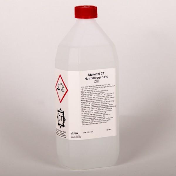 Natronlauge 15% (NaOH), 1 Liter