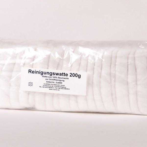Reinigungswatte aus 100% Baumwolle, 200 g
