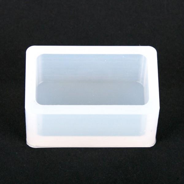 Silikonkautschuk Einbettformen, transparent, eckig