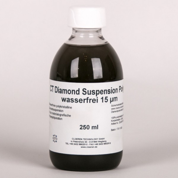 CT Diamantsuspension Poly, Wasserfrei, 20 ct/l