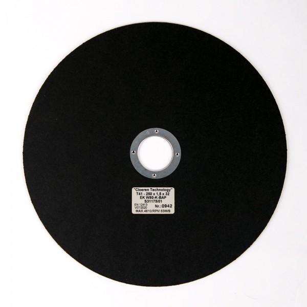 High Quality Korund Trennscheibe, unverstärkt, Eisenw. 500-1000 HV