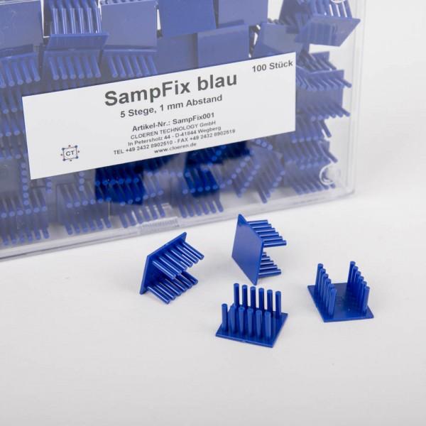 SampFix - Einbetthilfen aus Kunststoff für kleine Flachproben, 100 St.