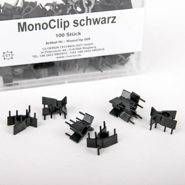 MonoClip - Einbetthilfen aus Kunststoff, verschiedene Farben, 100 St.