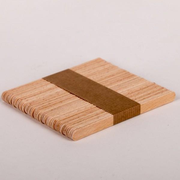 Anrührspatel aus Holz, 50 Stück