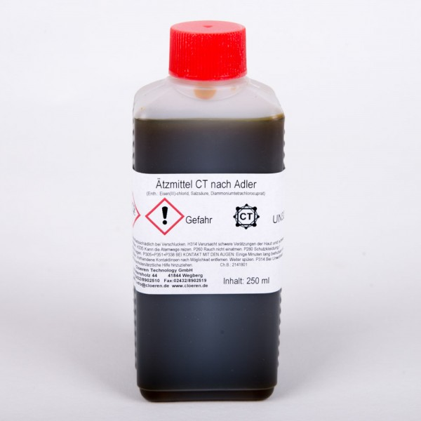 Ätzmittel nach Adler, 250 ml