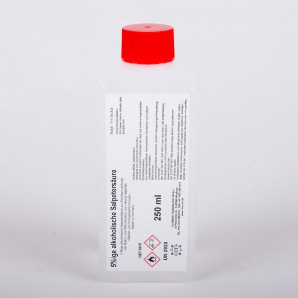 Salpetersäure 5% alkoholisch (Nital), 250 ml